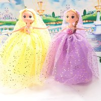 Wholesale Ddung Pendant Dolls - 26CM Print star cloth ddung doll toy for girl child beautiful gift DIY cartoon toy