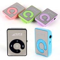 ingrosso free video music mp4-All'ingrosso- Regalo hotselling mp3 + cavo usb Mini lettore di musica portatile Mp3 supporto 8GB SD TF card