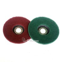 Wholesale Polish Grinder - 2 pieces 125*22mm Non-woven Flap Disc Angle Grinder Tool Fibre Polishing Pad for Metal Polishing Deburring