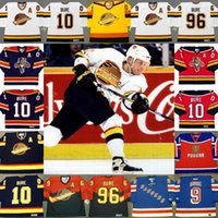 Wholesale Rangers Ccm Jersey - Throwback Jersey #10 #96 Pavel Bure Florida Panthers 1999 New York Rangers 2003 Vancouver Canuck 1994 1995 1996 CCM Hockey Jerseys