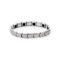 ingrosso braccialetti di salute all'ingrosso-Braccialetto in acciaio bio di energia magnetica bio- all'ingrosso in acciaio inossidabile per bracciali unisex da donna