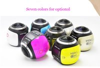 New outdoor roller skate - 5pcs Panoramic camera V1 degree reviewing sports DV P HD m waterproof outdoor action camera