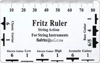 sela de porca de guitarra venda por atacado-NOVA Fritz Corda Ação Pitch Ruler 4 Bass Guitar Instrumento Cordas Instrumento Saddle