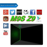 M9S-Z9 TV Scatola Android 2GB 16GB S912 Octa core box migliore android tv Box dual band 2.4G + 5.0G wifi Network Streaming TV Box