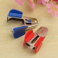 Mini Staple Staple Remover <b>Nail Puller</b> Per 12 # pinzatrice Stationery Office Accessori Scuola Forniture colore casuale