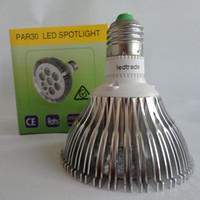 Wholesale E27 Watts - Factory Wholesale dimmable LED Bulb Light dimming par30 Spotlight par30 led lamp 7pcs CREE chip 21 Watts AC 110V 220V UL CE long lifetime