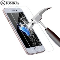 paket arkadaşları toptan satış-Temperli Cam iphone 7 6 6 S Artı 7 Artı Patlamaya dayanıklı 0.3 MM Ekran Koruyucu Için iPhone 5 5 S SE 5C Cam Koruyucu Film