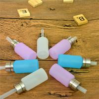 ingrosso blu mods box-Bottiglia di bottiglia di Squonk del silicone da 8ml di alimento per spremere le bottiglie di liquido per E Cigarette Squonk Box Mods 3 colori chiari rosa e blu in magazzino