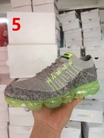 Wholesale VaporMax Running Shoes Mens Ourdoor Athletic Sporting Walking Sneakers for Women Men Fashion Casual Vapor Size