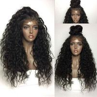 250% Density Curly 360 Lace Frontal brazilian Hair Wigs Natural hairline Pre Plucked Malaysian Remy front human wig DIVA1