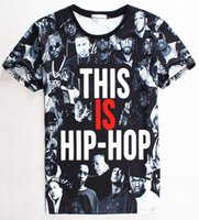 Wholesale fashion for short people - tshirt American Hip-Hop Fashion t shirt for men women 3d t-shirt print many people casual tshirt tops 1859