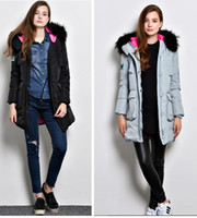 Wholesale Hooded Leather Jackets For Women - Winter Coat Women New Women Winter Jacket For Women Hooded Long Section Down Coat Slim Waist Thick Parkas Outwear out115