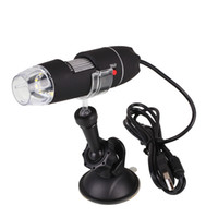 Wholesale Portable Handheld Digital Microscope - Wholesale- 1000X USB Portable Light Electric Handheld Digital Microscope Rack Suction USB microscope