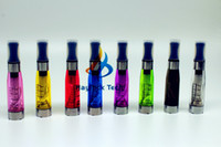 Wholesale Ce4 Clearomizer Electric Cigarette - EGO CE4 Clearomizer electric cigarette ego tank vape CE4 atomizer ego smoke coil dual cartomizer with all colours
