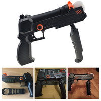 Wholesale Move Shooting - New Precision Shot Hand Gun Pistol For Sony PlayStation 3 Move Motion Control Controller Rifle For PS3 Shooting Games Accessory