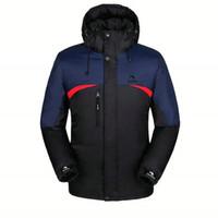 Wholesale Cheap Parka Jackets Men - Wholesale- 2017 Hot Sale Winter Men jacket Casual Slim Fit Fashion Hooded Mens Parka Jacket Cheap L-4XL