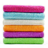 Wholesale Polyester Fiber Padding - Thickened bamboo fiber washing cloth non-stick oil wash towel kitchen cloth cleaning cloth soft and comfortable