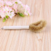 Wholesale Multi Function Pan - Durable long handle multi-function pot clean brush strong decontamination rust scrub scrub clean soft and comfortable