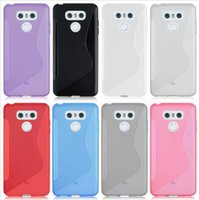 Wholesale Wholesale Xperia Play - For LG G6 Nokia 3 6 For HTC U ultra Play Moto Z M Sony Xperia XA1 S line Grip Wave Soft TPU Gel Clear skin Phone back cover case 5PCS 10PCS