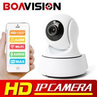 Wholesale Night Vision Ptz Camera - Boavision 1080P WIFI IP Camera Wireless PTZ IR-Cut Night Vision Two Way Audio HD 2MP CCTV Surveillance Camera P2P Cloud APP View