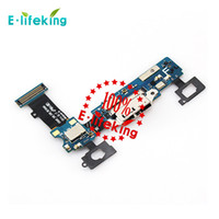 Wholesale Model Repair - Charging Port Flex Cable Ribbon for Samsung Galaxy S5 Model Repair Parts Replacement DHL Free Shipping