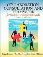 special packaging book - Collaboration consultion and teamwork for Students with Special Needs Seventh edition