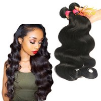 "Wholesale Dyable Hair - High Quality Brazilian Body Wave Virgin Human Hair Extension 8""-26""Can Be Mixed Length Natural Color Dyable Brazilian Body Wave Free Shippin"