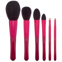 Wholesale Black Beauty Series - CHIKUHODO Passion Series Brush Set Kit PS-1 to PS-6 6-pieces - High Quality Goat Hair&weasel Hair - Beauty Cosmetics Makeup Brushes Blender