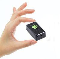 Wholesale alarms gsm video resale online - GF08 Mini GPS Tracker Car GSM GPRS GPS Locator with Mini Camera GSM Alarm Voice Video Recording DVR