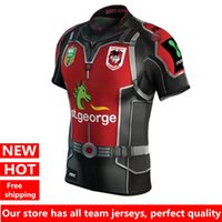 Men george t shirt - 2017 Hot sales Newest St George Dragons Marvel Ant Man Jersey T shirts Top quality rugby jerseys S XL