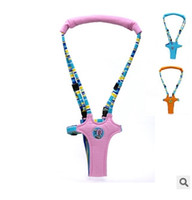 Wholesale Bouncer Baby - 3 color children vest type Harnesses Leashes Toddler Safety Harness Baby Toddler Harness Bouncer Jumper Help Learn To Moon walk
