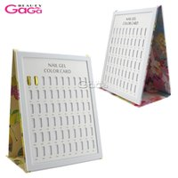 Wholesale Nail Tips Display Color Chart - BeautyGaGa 1pc 120pcs Nail Tips Display Color Chart Nail Art Salon Manicure Pedicure Tools UV Gel Polish Color Book