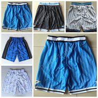 Wholesale Black Elastic Waist Pants - Orlando 4 Elfrid Payton Basketball Shorts Men Breathable 25 Steve Kerr Pant Sportswear Team Black Blue White Embroidery High Quality