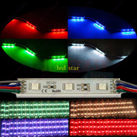 Wholesale Led Rgb Pixel Module High - 5050 RGB Led Lights Modules Waterproof IP65 High Quality SMD 5630 Backlight Warm White Red Blue Green 12V Led Pixel Modules