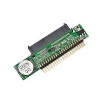 pc sabit diskler toptan satış-Toptan-Yeni 1.5 Gb / s 44 Pin SATA 2.5 Kadın IDE 2.5 Erkek HDD Dönüştürücü Adaptör Sabit Disk DVD CD PC için Toptan Indirim