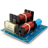 Wholesale Low Frequency Power Amplifier - Freeshipping 200W 3 Way Crossover for Speaker 3way Frequency Divider Board LOW MID HIGH Crossovers 3 way Audio HIFI DIY Home Stereo System