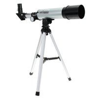 Wholesale Outdoor Monocular - New F36050M 360 50mm Refractive Astronomical Telescope with Portable Tripod Spotting Scope Outdoor Monocular Astronomical Telescopes