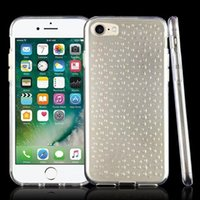 Wholesale Crystal Clear Raindrop - Transparent Crystal Water Drop Dripping Raindrop Full Clear Cases For iphone 7 Plus Case Soft TPU Gel Skin Back Covers