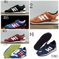 Wholesale Male Low Cut - 2017 new hot Chrismas gift for colors Skateboarding Men's running ZX 750 700 male zx750 shoes in 800 casual Leisure
