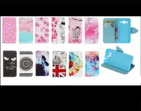 Wholesale Iphone 3g Wallet Cases - Tower Cat Windbell Bear Elephant Wallet Leather Sony Xperia E5 Huawei P9 case holder stand for Wiko Rainbow Jam 3G