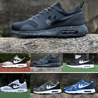 Wholesale Max Camouflage - Maxes 87 Tavas 87 Camouflage men Casual Shoes 100% all black maxes thea breathable Shoe 2017 size 36-45 hot athletic shoes