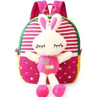 Wholesale Cartoon children bag kindergarten boys and girls children backpack year old baby Mini bag cute Removable school bag