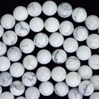 Wholesale Howlite Beads Round 6mm - Wholesale Fashion diy 4mm 6mm 8mm 10mm 12mm white turquoise owl howlite loose beads jewelry suplly jewelry making
