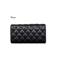 Wholesale Newest Traverse lattice Wallet Large capacity hand bag High quality Multi color optional Big brand design Wallet