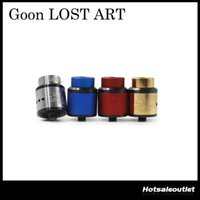 Wholesale Rda Metal Tips - Clone 528 Goon Lost Art Edition Goon RDA Clone Atomizer 24mm Goon Lostart with Wide Bore Drip Tip