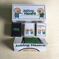 Wholesale Party Paper Table - Joking Hazard ADULTS ONLY Card Carte Trick TabJoking Hazard ADULTS ONLY! Card Carte Trick Table Party Board Game for Children Kids free ship