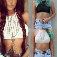 Wholesale Sexy Women Girl Handmade Swimwear Crochet Beach Swimsuit Cover Up Knitted Bikini