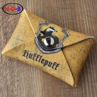 Wholesale Coin Purses Europe and America New pattern coin purse quot Potter Harry quot Hufflepuff coin purse Student coin bag Card package