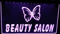 Wholesale Neon Sign Beauty - LS052-p Beauty Salon NaiLS NR Neon Light Sign Decor Free Shipping Dropshipping Wholesale 6 colors to choose