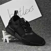Wholesale Hiking Pack - 2017 Discount NMD Runner R1 Cream Salmon City Pack For Men Women Running Shoes Sneakers Fashion NMD Runner Primeknit Sports 36-46 With Box